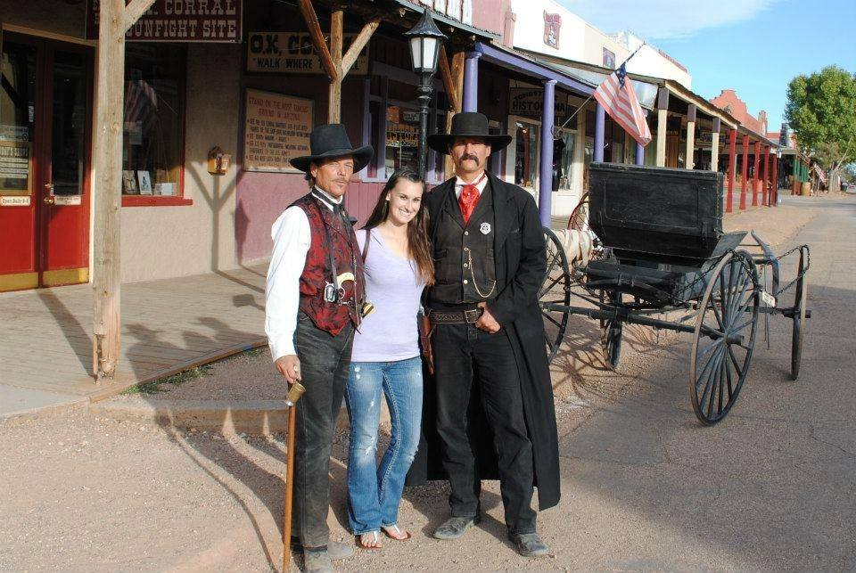 Ariana Traveling through Tombstone