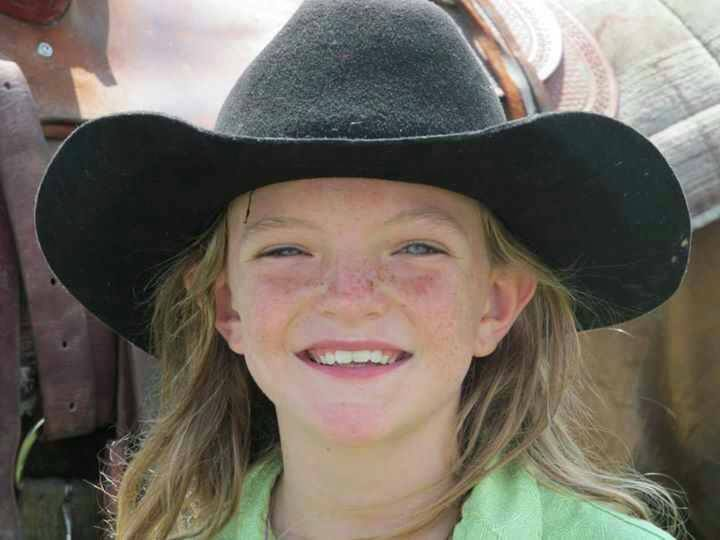 This lil cowgirl loves Doc Holliday