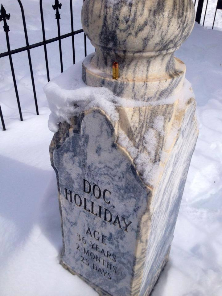 Doc's Grave/Tombstone