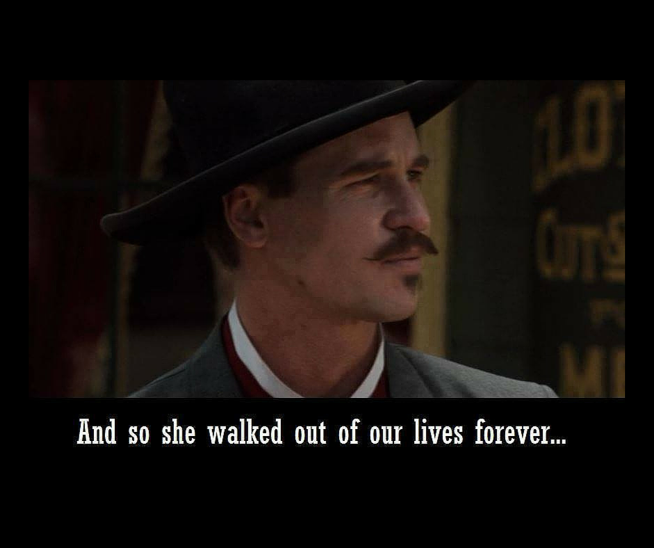 Doc Holliday Quotes From The Movie Tombstone: Doc Holliday