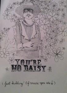You're no Daisy
